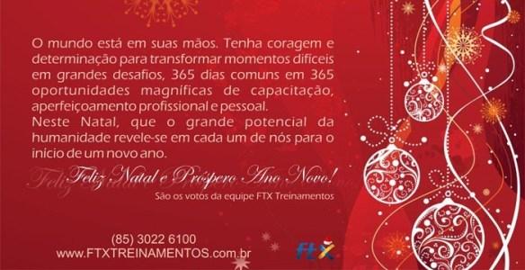 Cartão da FTX Treinamentos