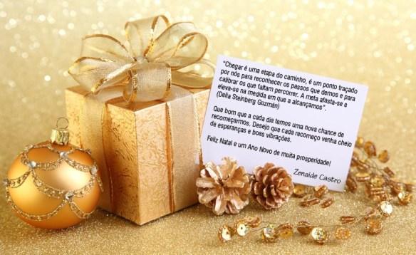 Cartão de Natal de Zenaide Castro
