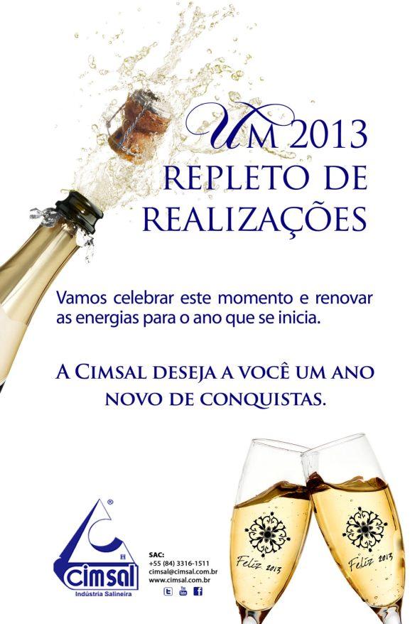 Feliz ano novo da Cimsal