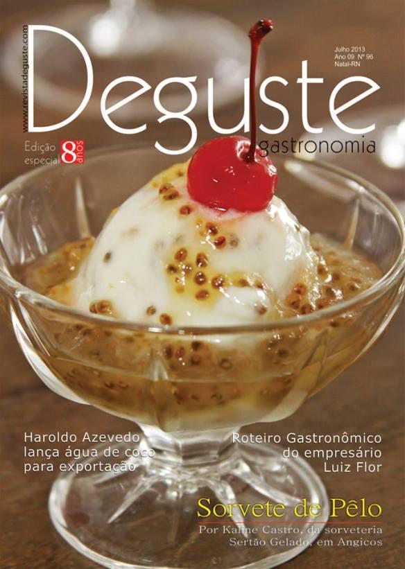 capa aniversário da Revista Deguste