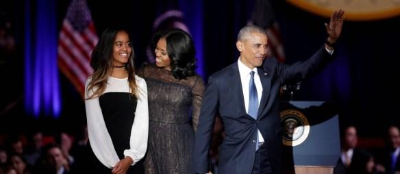 O tchau de Obama.