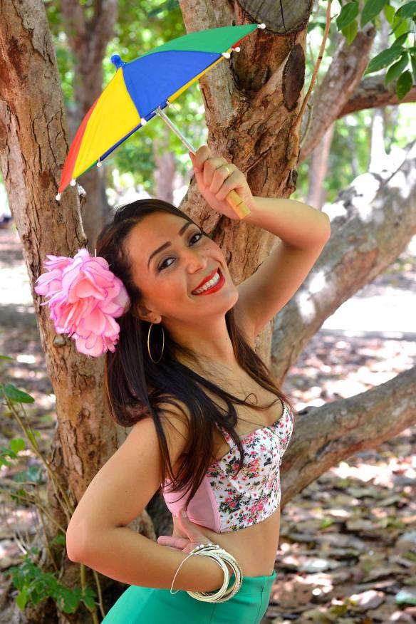 Andiara Freitas homenageia o grande carnavalesco potiguar Dosinho.