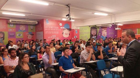 Kelps falou sobre gestão pública na estudantes da UnP