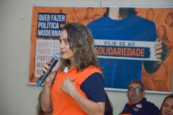Magnólia Figueiredo é pré-candidata ao Senado pelo Partido Solidariedade no Rio Grande do Norte