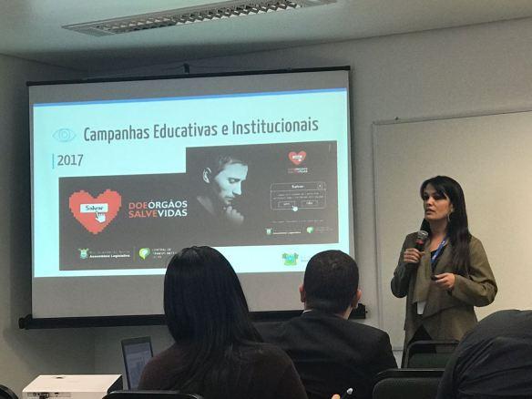 Jornalista Marília Rocha representou a Assembleia em evento no Rio Grande do Sul