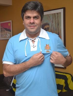 Dionísio nasceu no Uruguai mas chegou ao Brasil ainda criança
