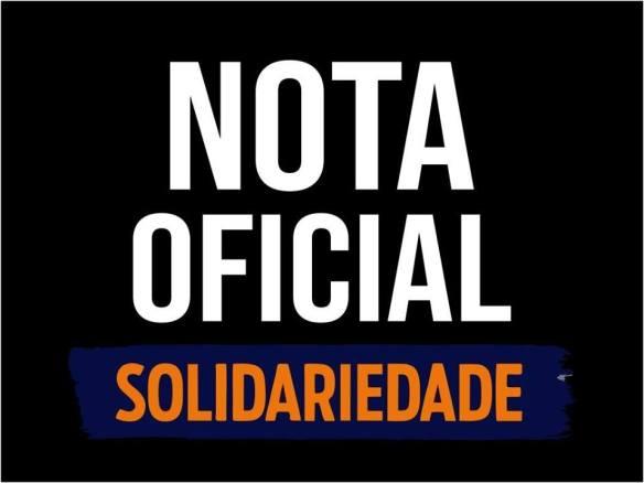Partido Solidariedade divulgou nota pública.