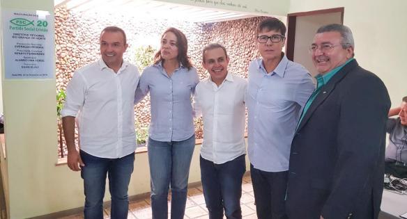Kelps, Magnólia, Breno, Sérgio e Renato Fernandes