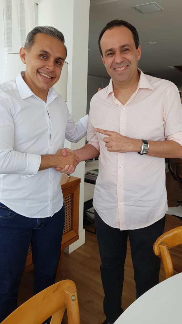 Brenno Queiroga terá o voto do vice-governador Fábio Dantas
