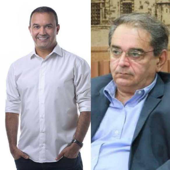 Segundo pesquisa da Tribuna, Kelps e Álvaro iriam para o segundo turno se a eleição fosse hoje