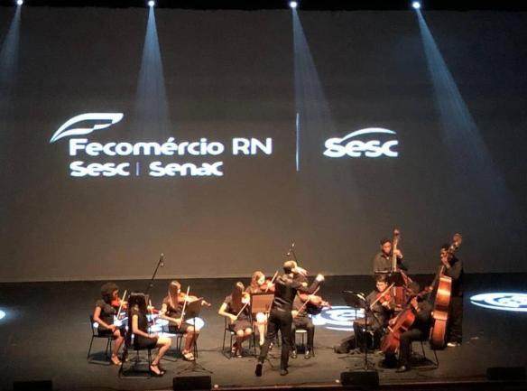 Orquestra de cordas Sesc Cidadão Natal