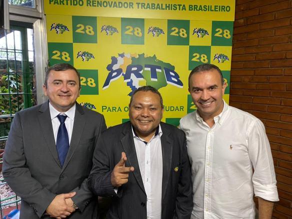Daniel do PSL, Heró do PRTB e Kelps do Solidariedade: parceria contra as oligarquias e o PT