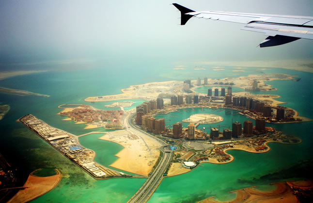 O mundo visto de cima, uma galeria com 12 fotos tiradas da janela do avião