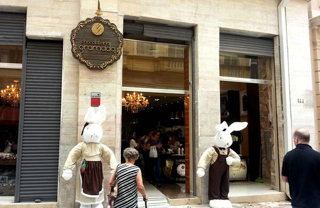 Chegou em São Paulo os chocolates do Rio Grande do Sul, na Chocolataria Gramado