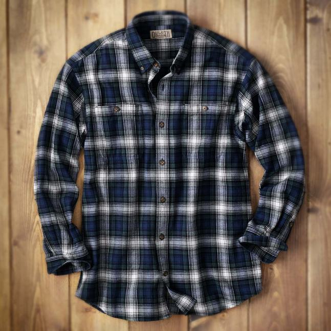 Duluth Trading Company Men's Free Swingin' Flannel #52007