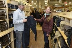 Duluth Woman model Amanda Vogel appreciates a good gusset joke.