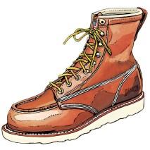 Contractor's Moc Toe Boots Item #97786