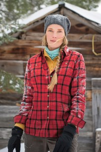 Free Swingin' Flannel Shirt Classic Red Plaid