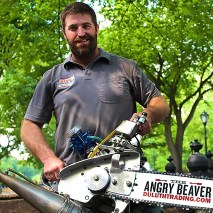 STIHL® TIMBERSPORTS® Adam LaSalle and The Angry Beaver Hot Saw