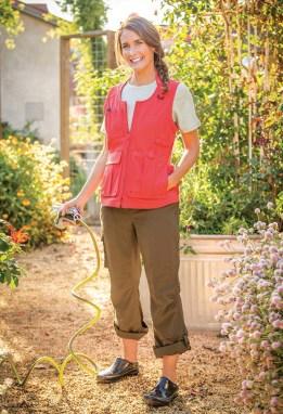 Women's Heirloom Gardening Vest and Pants