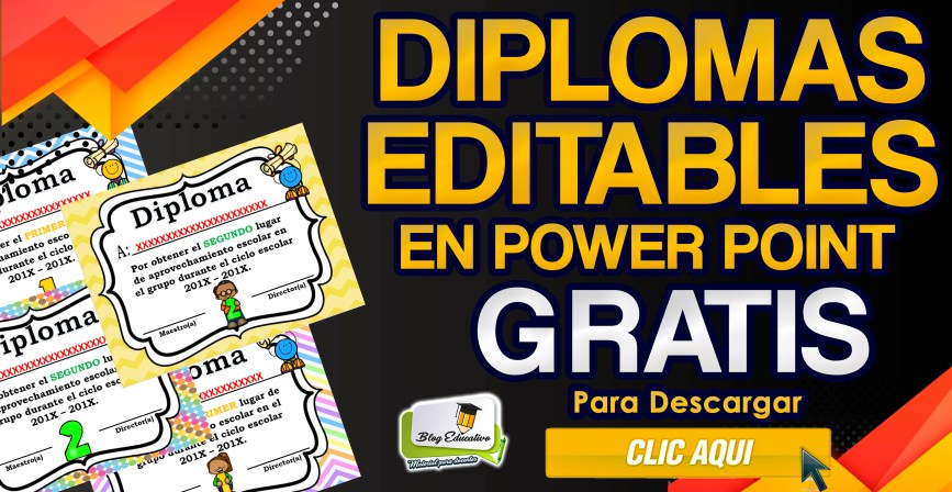 Diplomas Editables en Power Point Gratis - Blog Educaiva