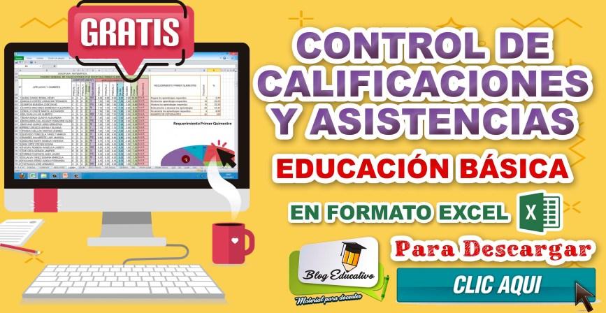 Control de calificaciones y asistencia en Excel - Blog Educativo
