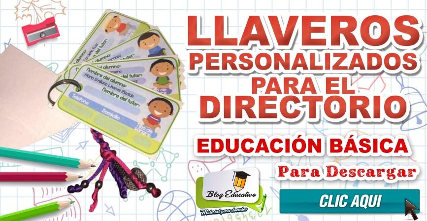 Llaveros personalizados para el directorio - Blog Educativo