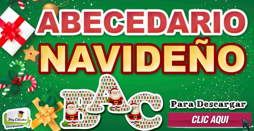 Abecedario Navideño - Material Gratis - Blog Educativo