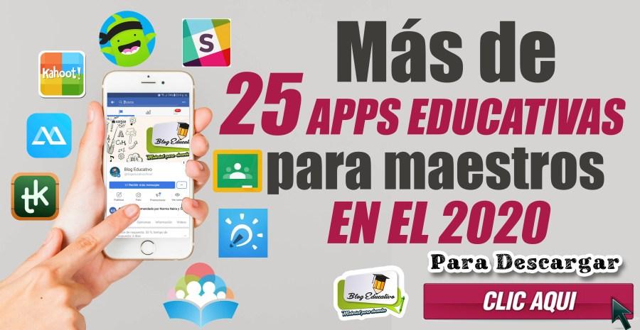 APLICACIONES EDUCATIVAS PARA MAESTROS EN EL 2020