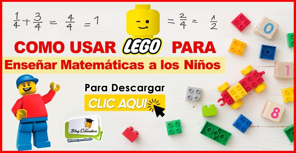 Como usar LEGO para enseñar matemáticas en los niños