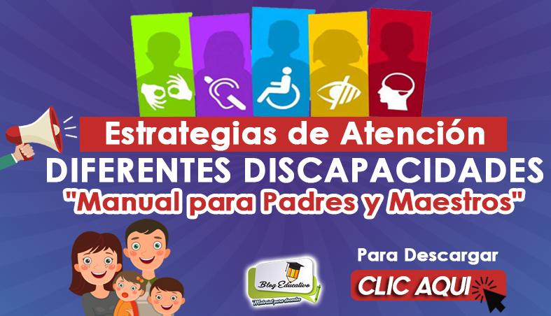 Estrategias de Atención Diferentes Discapacidades - Blog Educativo