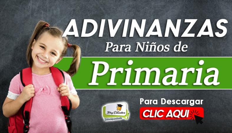 Adivinanzas para Niños de Primaria - Blog Educativo