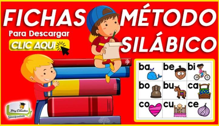 Fichas sobre Método Silábico en PFD Blog Educativo