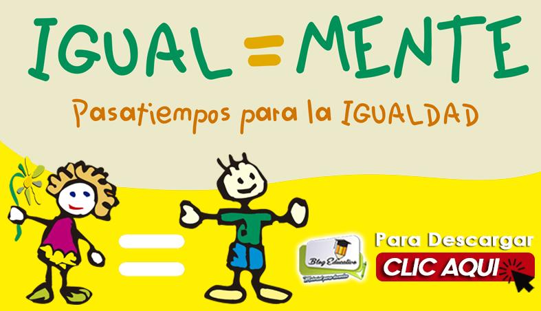 Cuaderno de Trabajo para niños sobre igualdad y equidad
