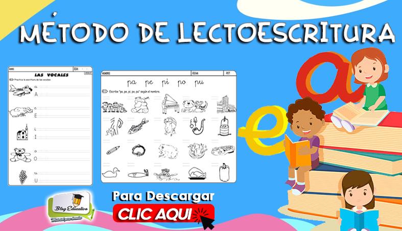 Método Lectoescritura 300 Paginas Gratis - Blog Educativo