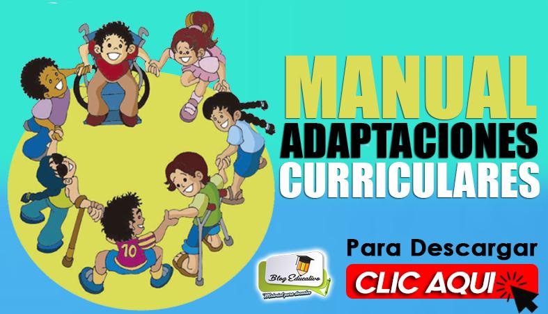 Manual Adaptaciones Curriculares - Blog Educativo