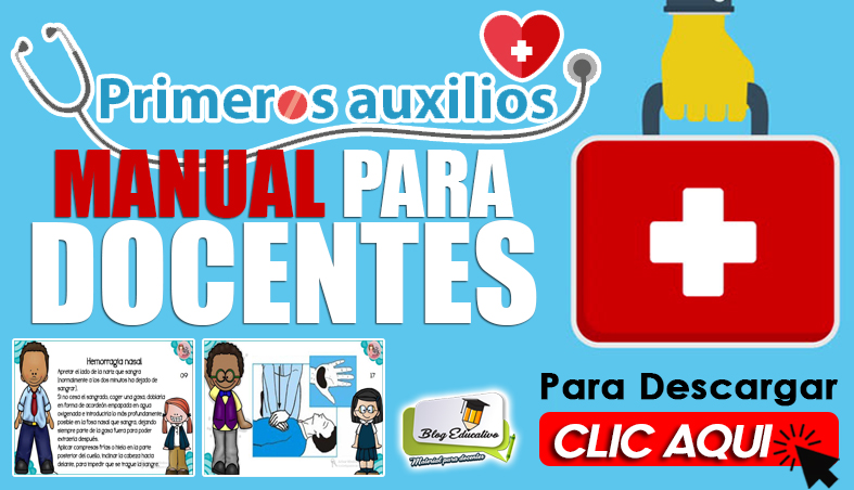 Primeros Auxilios Manual para Docentes - Blog Educativo