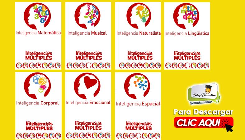 Inteligencias Múltiples y Competencias Mega Pack Gratis