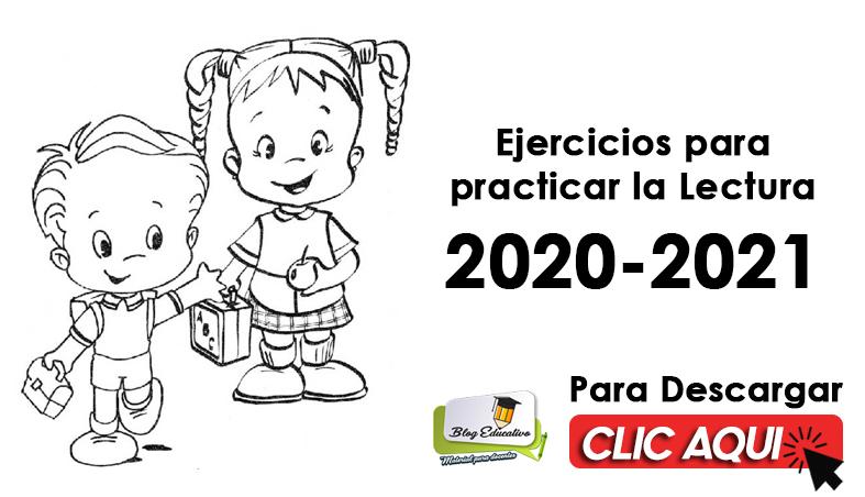 Ejercicios para Practicar la Lectura 2020 2021 - Blog Educativo