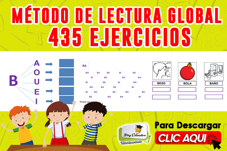 Ejercicios de Método de Lectura Global  - Blog Educativo