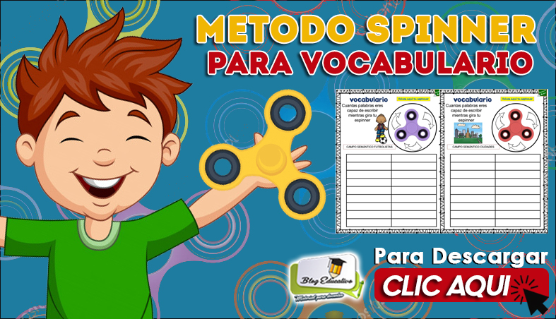 Método Spinner para Vocabulario - Blog Educativo