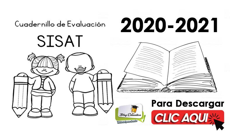 SISAT Cuadernillo de Evaluación 2020 2021 - Blog Educativo