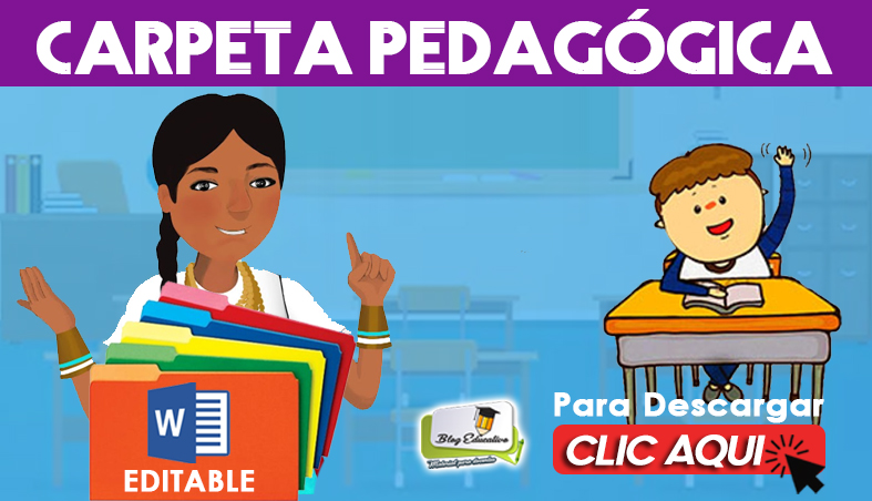 Carpeta Pedagógica Editable 2020 - Blog Educativo