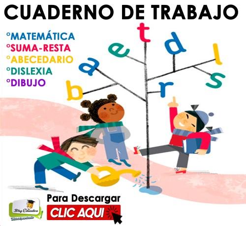 Cuaderno de Trabajo variado para niños - Blog Educativo