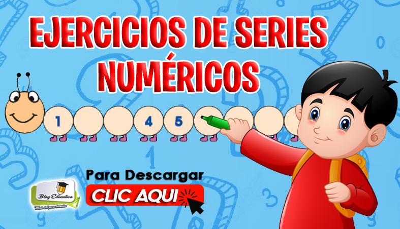 Ejercicios de Series numéricos gratis - Blog Educativo