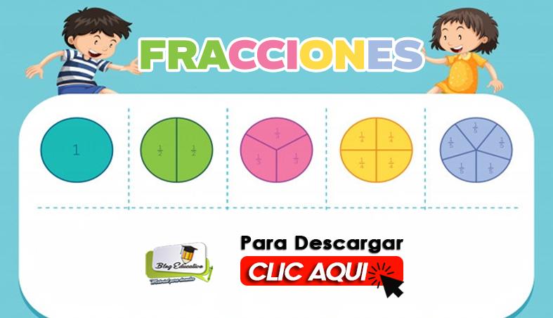 Cuaderno de Fracciones para niños - Blog Educativo