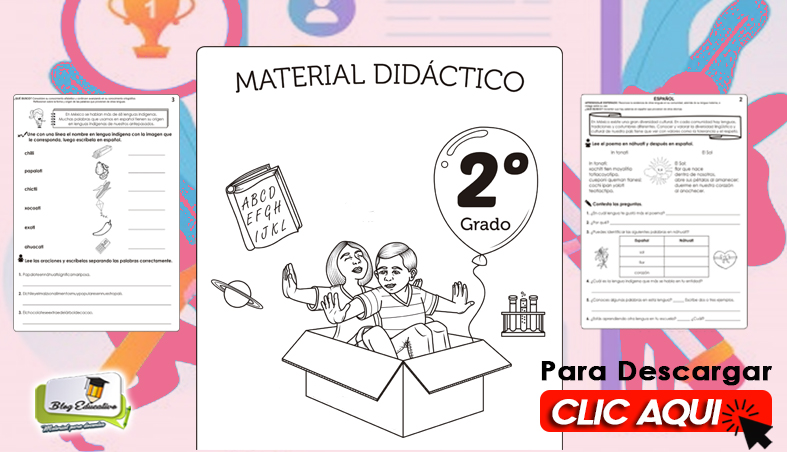 Ficha de Material Didáctico 2do Grado - Blog Educativo