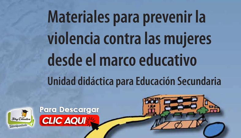 Materiales para Prevenir la Violencia contra la Mujeres