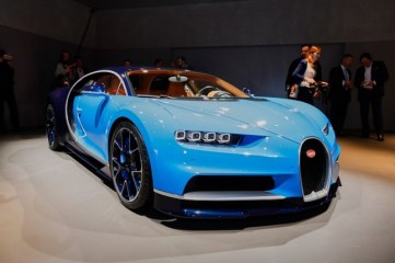 Bugatti Chiron à Genève