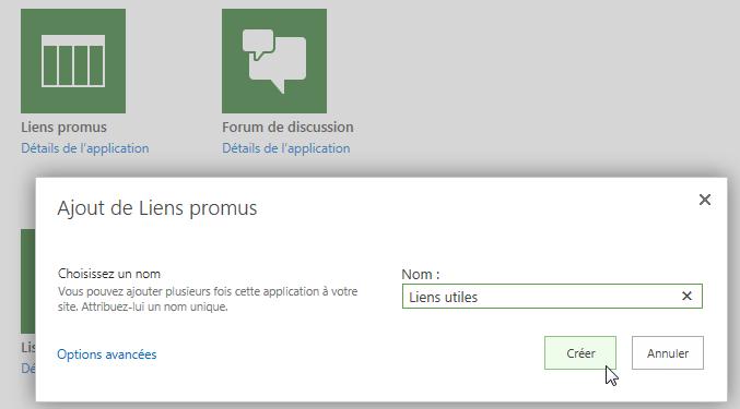 Liens promus avec SharePoint 2013 ou SharePoint Online (et donc Project Server ou Project Online) (3/6)